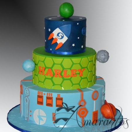 Three Miles From Tomorrowland Cake – AC527