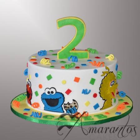 Sesame Street Cake- AC544