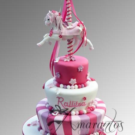 Three tier Mad Hatter Cake- CC26