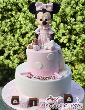 Two tier With Minnie Cake- CC83
