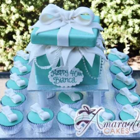 Tiffany Cup Cake Tower- CT23