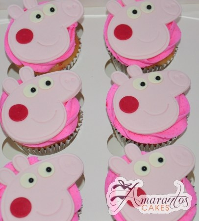 Peppa Pig Cup Cakes- CU03