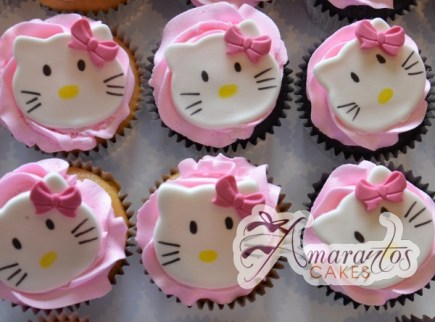 hello kitty cup cakes