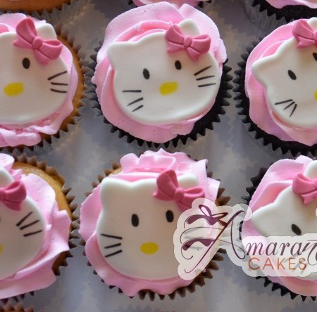 Hello Kitty Cup Cakes- CU06