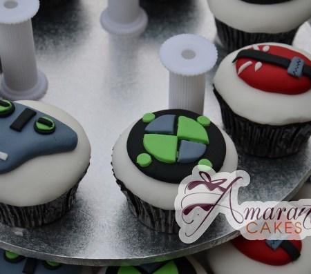 Ben 10 Cup Cakes- CU28