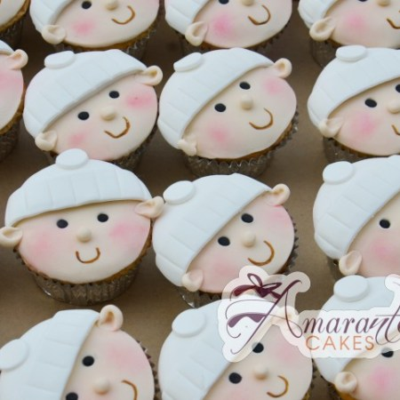 Baby Face Cup Cakes- CU36