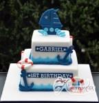 Nautical theme cake - Amarantos Designer Cakes Melbourne