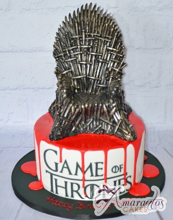 Game of Thrones Cake - Amarantos Designer Cakes Melbourne