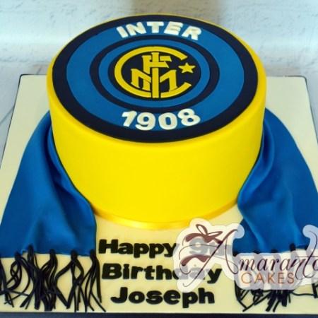 Football logo cake - Amarantos Designer Cakes Melbourne
