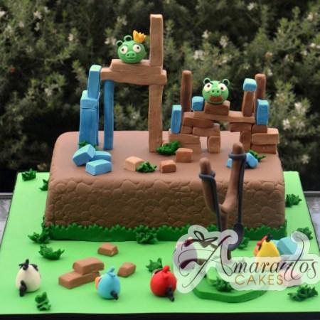 Angry Birds cake- NC199