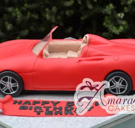 3D Ferrari Convertible Cake - Amarantos Cakes Melbourne