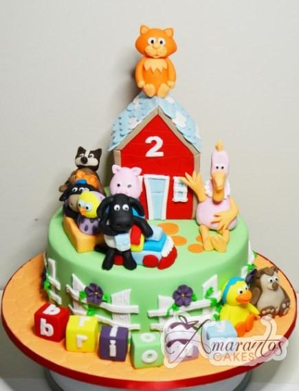 Timmy Time theme cake – NC215 1