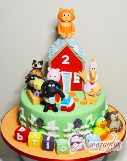 Timmy Time theme cake – NC215 1