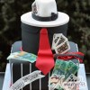 two tier gangster cake
