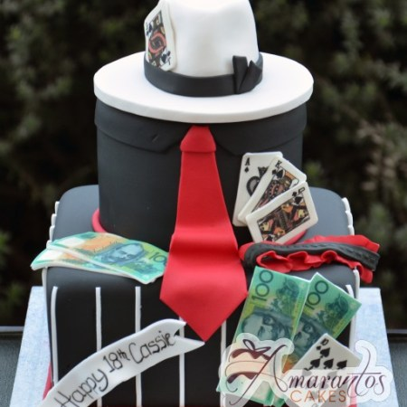 Two tier Gangster cake – NC218