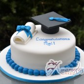 Base with Graduation Cap & Scroll - NC240