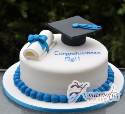Base with Graduation Cap & Scroll – NC240 1