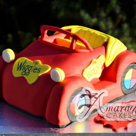 3D Big Red Car- NC24