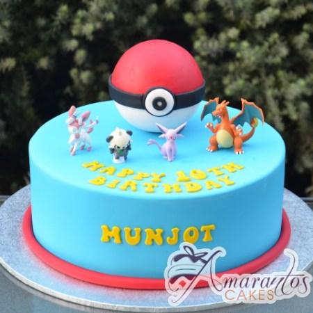 Pokemon Cake - Amarantos Cakes Melbourne
