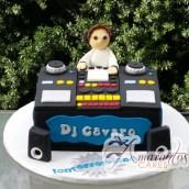 DJ 3D Cake - Amarantos Cakes Melbourne