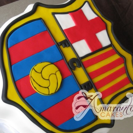 Barcelona Football Logo- NC298