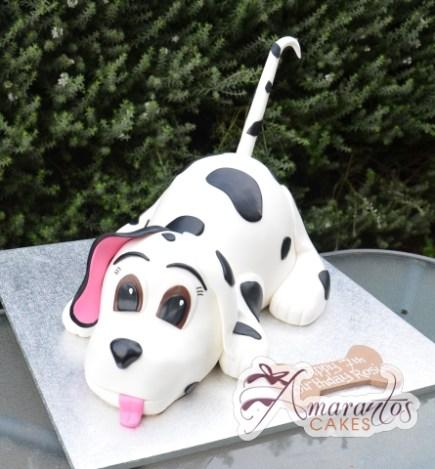 3D Dalmatian Cake - Amarantos Cakes Melbourne