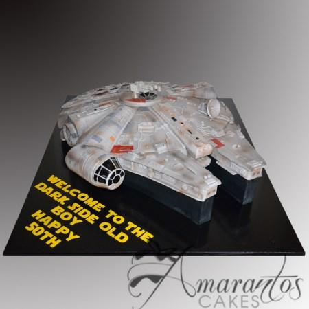 3D Millennium Falcon Cake – NC324