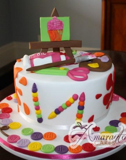 art and craft cake NC325