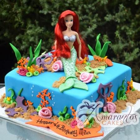 Ariel on Base Cake – NC338