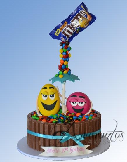 M&M cake NC342