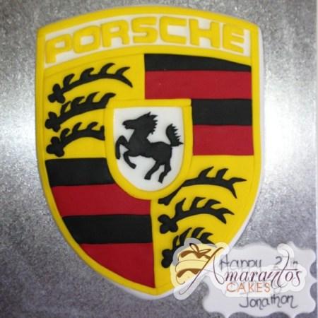 Porsche Logo- NC369