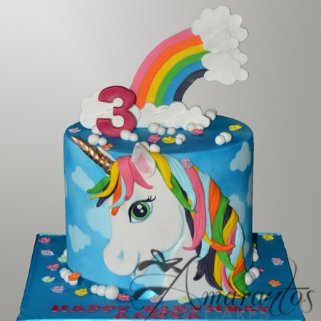 Unicorn themed cake – NC381