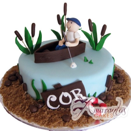 Base cake with Fisherman- NC427