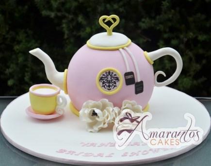 Tea pot cake NC435