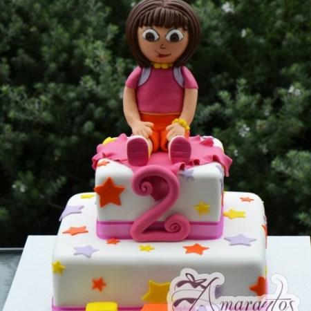 Two tier Dora Cake- NC478