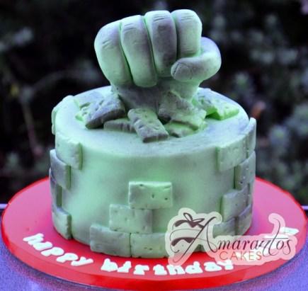 Hulk Cake - NC523