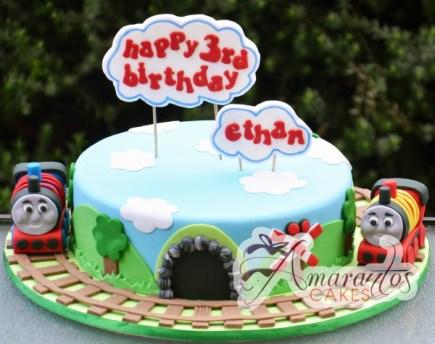 thomas train cake NC534