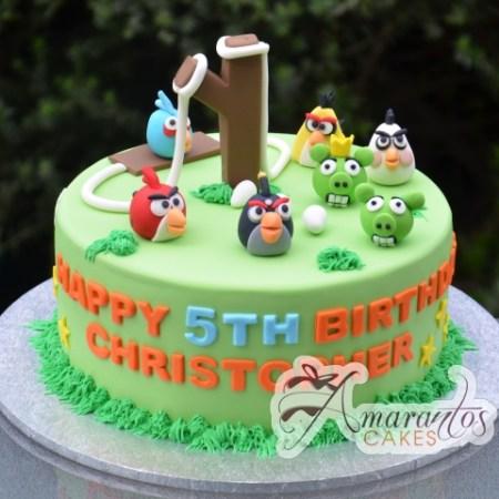 Angry Birds cake- NC56