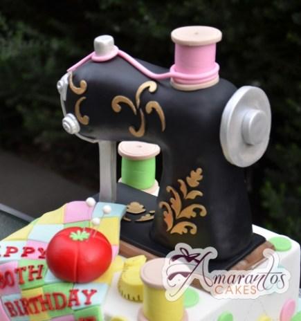 Sewing Machine Cake 3D - Amarantos Cakes Melbourne