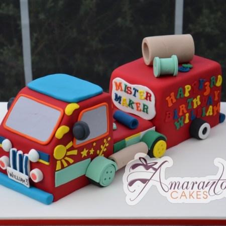 3D Mister Maker truck- NC566