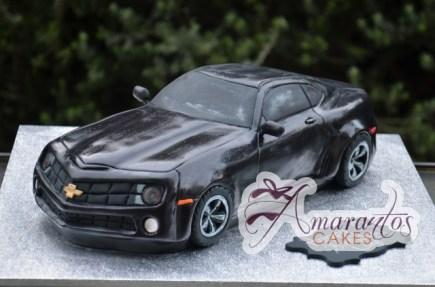 3D Camaro Car Cake - Amarantos Designer Cakes Melbourne