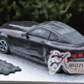 3D Camaro Cake - Amarantos Designer Cakes Melbourne