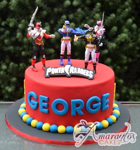 Magnificent Power Rangers Cake Nc586 Celebration Cakes Melbourne Amarantos Funny Birthday Cards Online Alyptdamsfinfo