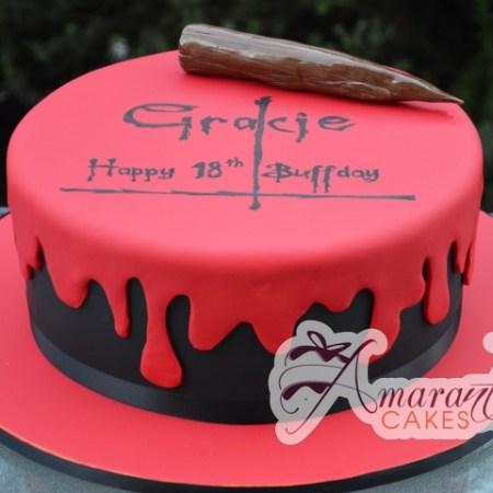 Buffy themed Cake- NC607