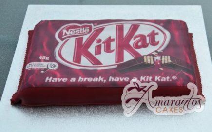 Kitkat Bar Cake - Amarantos Designer Cakes Melbourne