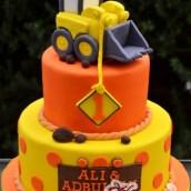 Construction Truck Cake - Amarantos Designer Cakes Melbourne