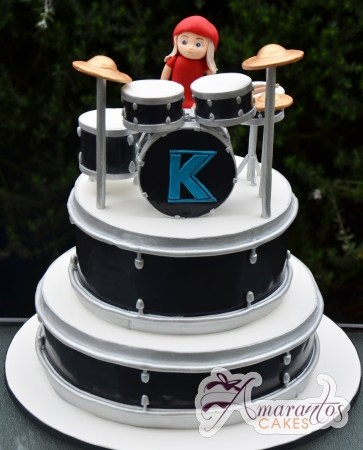 Two tier Drums Cake – NC611