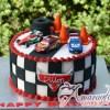 Base Cake with Cars the Movie - NC613 - Amarantos Birthday Cakes Melbourne