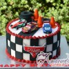 Base Cake with Cars the Movie - NC613 - Amarantos Birthday Cakes Melbourne