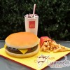 Cheeseburger Meal Cake - NC623 - Amarantos Novelty Cakes Melbourne